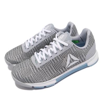 Reebok 訓練鞋 Speed TR Flexweave 女鞋 健身房 支撐 避震 包覆 運動 球鞋 灰 藍 DV4401