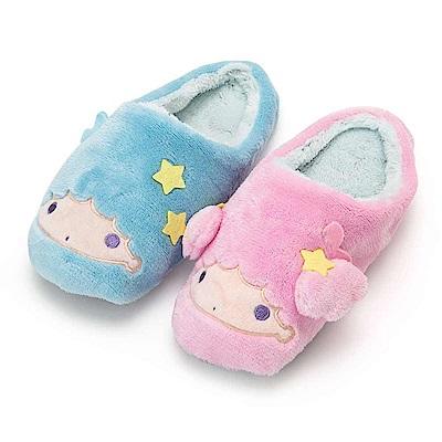 Sanrio 雙星仙子大臉造型女用絨毛室內拖鞋