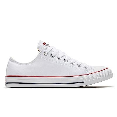 CONVERSE-男女休閒鞋M7652C-ALL STAR低筒白
