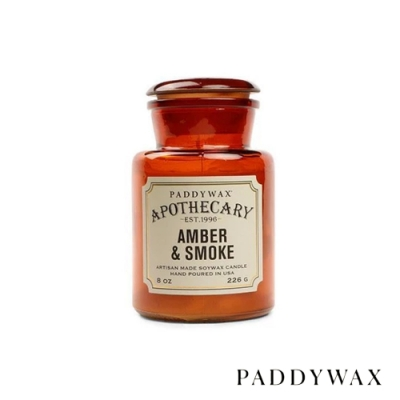PADDYWAX 美國香氛 Apothecary 藥劑師系列 琥珀煙香 226g