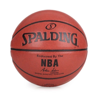 SPALDING NBA Grip Control PU籃球 #7 咖啡黑