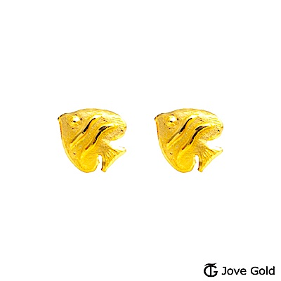Jove gold 悠然自得黃金耳環