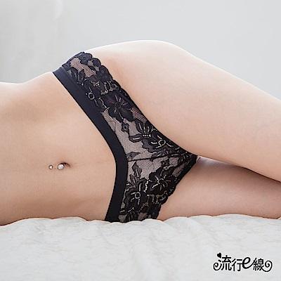 2入裝性感丁字褲 蕾絲女性感內褲 透膚情趣內褲 流行e線