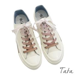 復刻配色綁帶帆布鞋 TATA