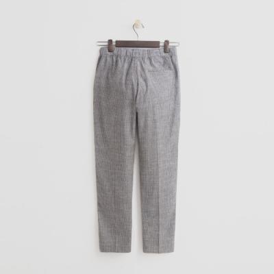 Hang Ten - 女裝 - 綁帶鬆緊修身八分褲-灰