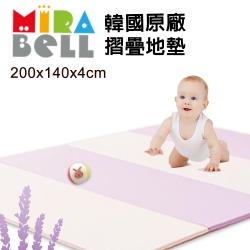 【Caring】韓國原廠 MIRABELL 摺疊軟墊 四折地墊