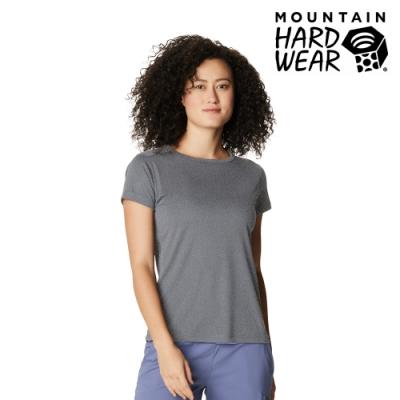 【美國 Mountain Hardwear】Wicked Tech  Short Sleeve T 防曬快乾短袖排汗衣 女款 石墨灰 #1924961