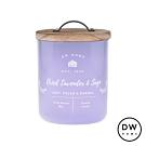 DW HOME 美國香氛 農園系列 鼠尾薰衣草 原木蓋玻璃罐 240g