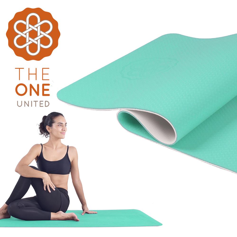 【The One】環保TPE雙色瑜珈墊 6mm product image 1