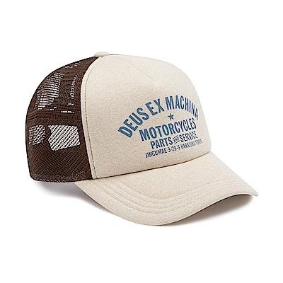 Deus Ex Machina Logo印字卡車帽