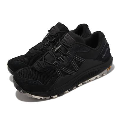 Merrell 戶外鞋 Nova Traveler JPN 男鞋 彈性支撐 避震墊片 耐磨 黃金大底 麂皮 黑 ML066601