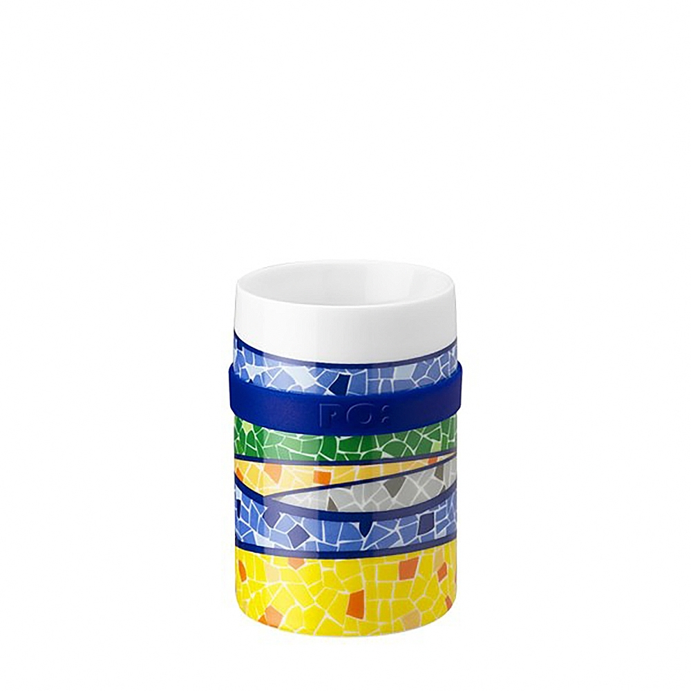 【PO:Selected】丹麥雙層陶瓷馬克杯200ml (浪潮)