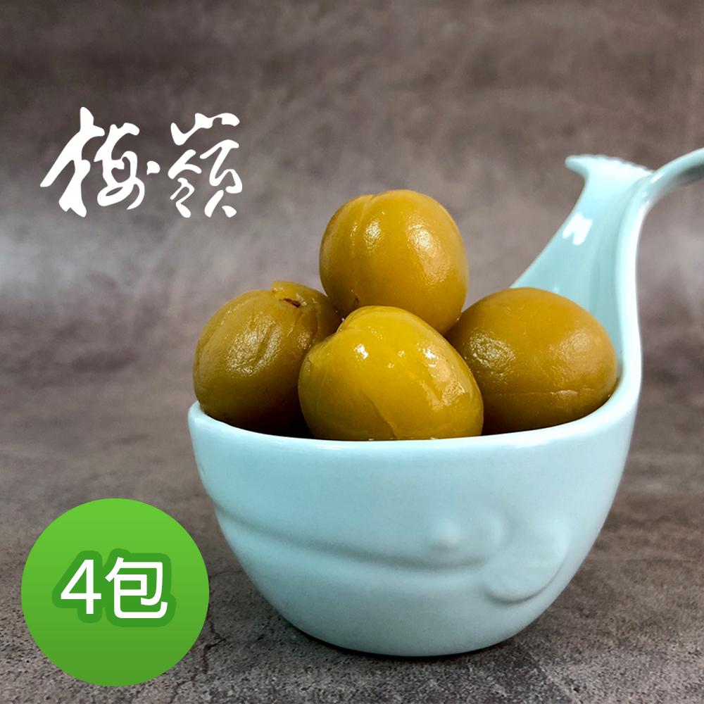 梅嶺 享梅滋脆梅(250gX4包)