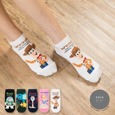 阿華有事嗎  韓國襪子  玩具總動員人物短襪  韓妞必備 正韓百搭純棉襪