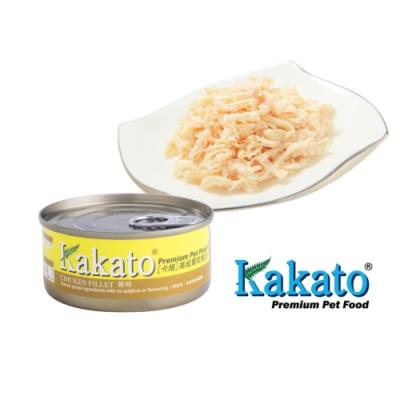 Kakato 卡格餐食罐 (雞柳)70g  鮮食 貓狗共食  貓罐 狗罐 天然罐 挑食