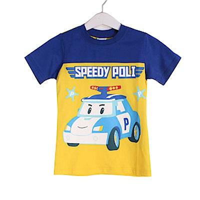 POLI純棉防蚊布短袖T恤 k50315 魔法Baby
