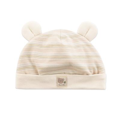 奇哥 有機棉小熊造型帽(0-6個月)