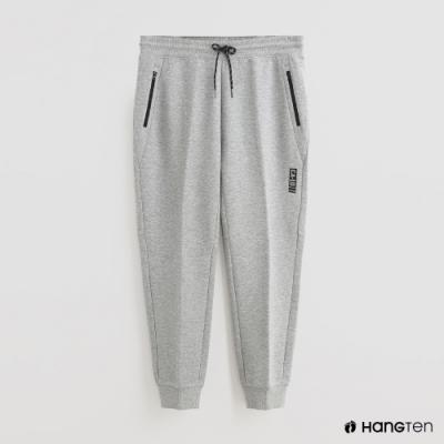 Hang Ten - 男裝 - 腰部鬆緊抽繩休閒長褲 - 灰