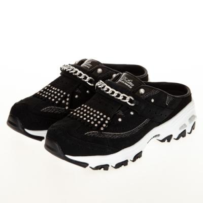 SKECHERS 女休閒系列 光之魅影 PREMIUM HERITAGE 限量款穆勒鞋 - 149496BKW