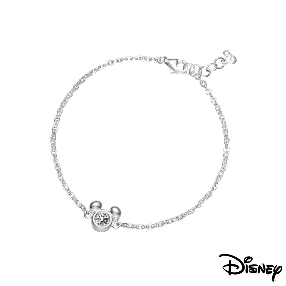 Disney迪士尼系列銀飾 純銀手鍊-閃亮米奇款 @ Y!購物