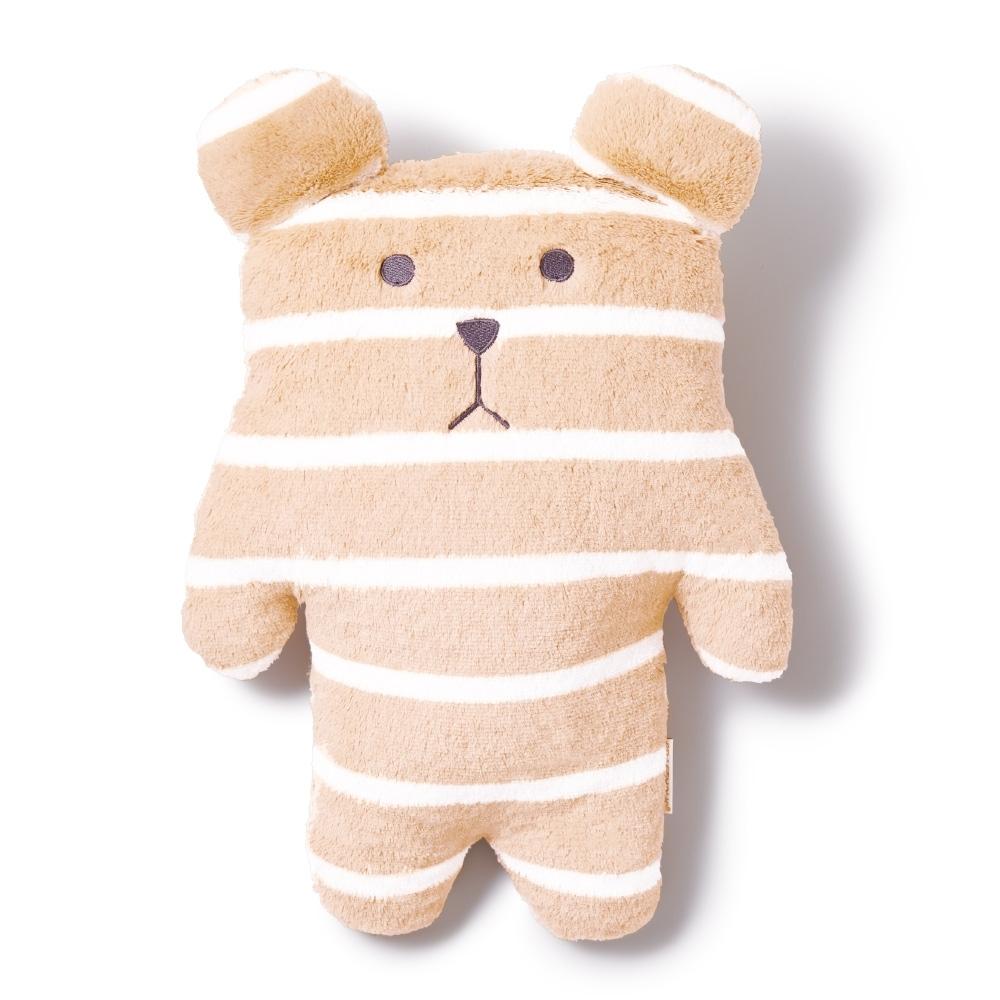CRAFTHOLIC 宇宙人 米白條紋熊寶貝枕