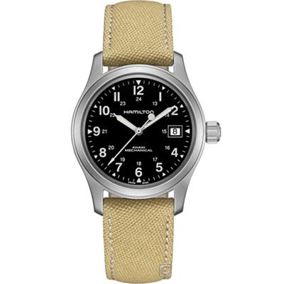 (無卡分期6期)Hamilton Khaki 軍風機械錶(H69439933)38mm