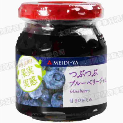 明治屋 果實感果醬-藍莓(160g)