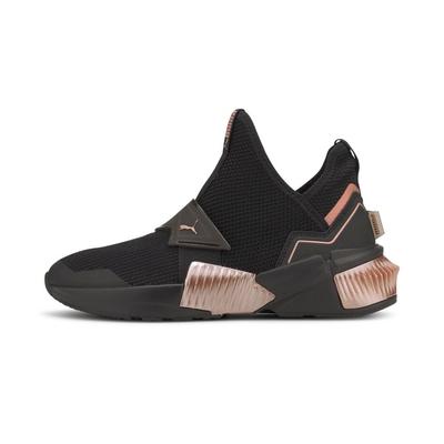PUMA Provoke XT Mid Wns 女訓練鞋 黑金-19411101