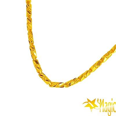 Magic魔法金-相愛黃金項鍊(約3.87錢)(約長42cm)