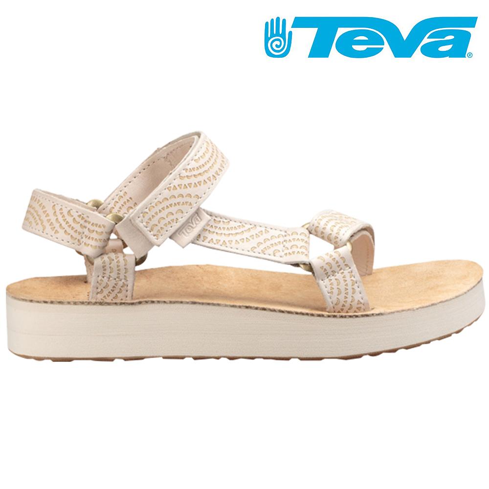 TEVA Voya Infinity 女休閒拖鞋 樺木白