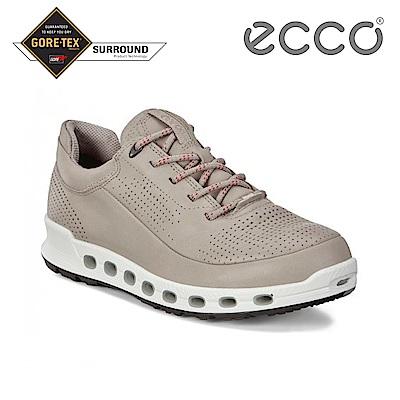 ECCO COOL 2.0 W 360度環繞防水休閒運動鞋 女-月石灰