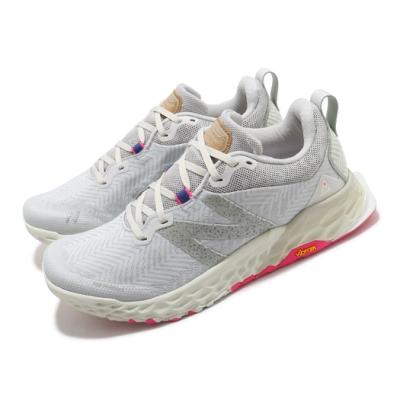 New Balance 慢跑鞋 Fresh Foam Hierro 男女鞋 紐巴倫 輕量透氣 舒適避震 情侶款 白 灰 MTHIERW6D