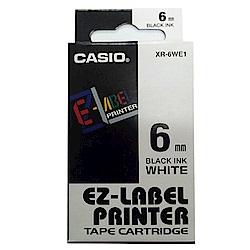 (團購10捲) CASIO 6mm標籤機色帶共5色-(另可任選顏色)