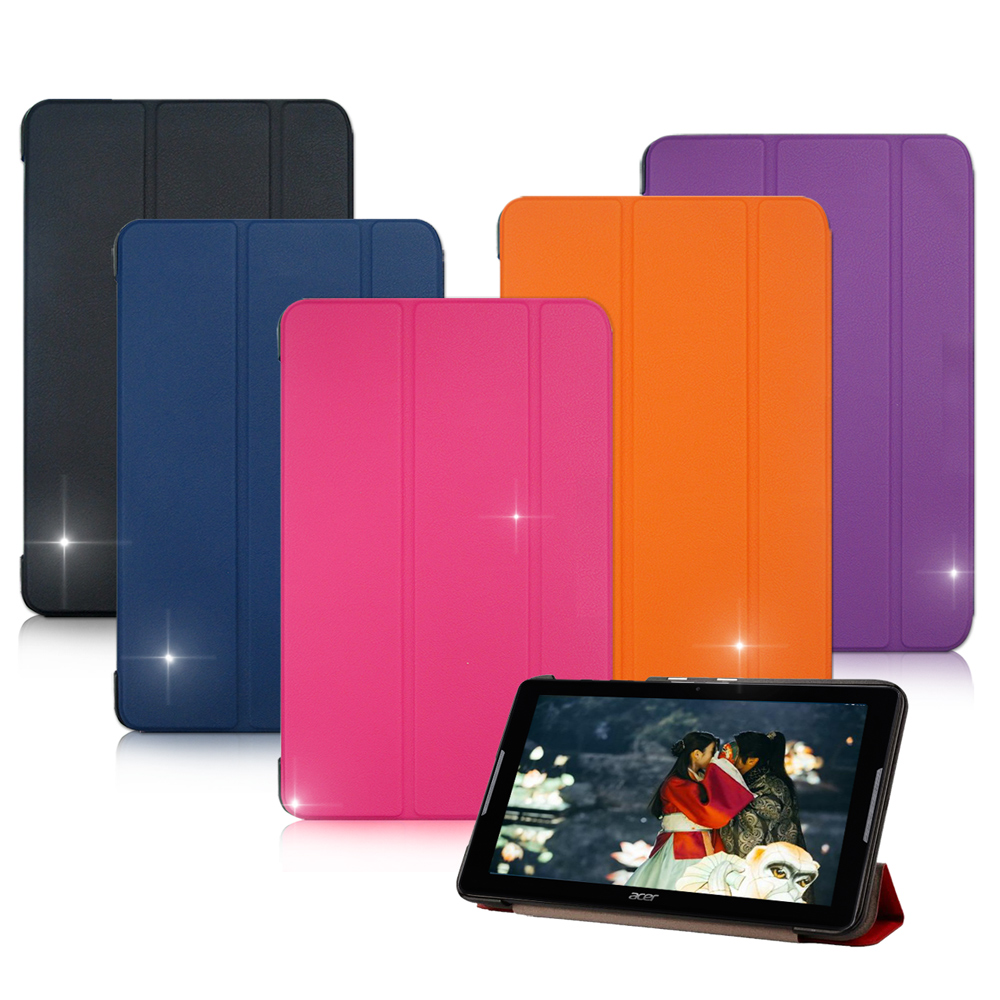 VXTRA ACER Iconia One 10 B3-A30經典皮紋平板皮套