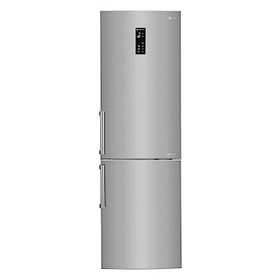 [無卡分期12期]LG樂金350L直驅變頻上下門冰箱(精緻銀)GW-BF388SV
