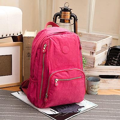 COUNT DUCK 美系悠活輕量大容量後背包-CD-016-野莓色
