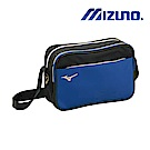 MIZUNO 美津濃 棒壘側肩袋 藍x黑 1FTD900507