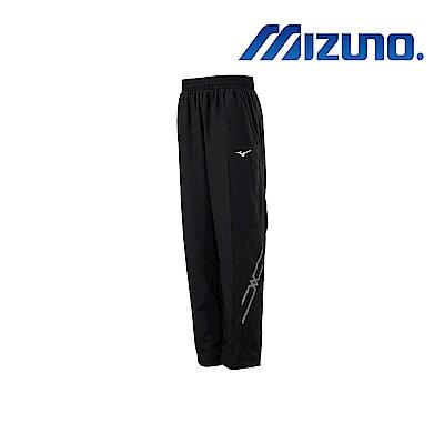 MIZUNO 美津濃 男平織運動長褲 黑x黑 32TD908599