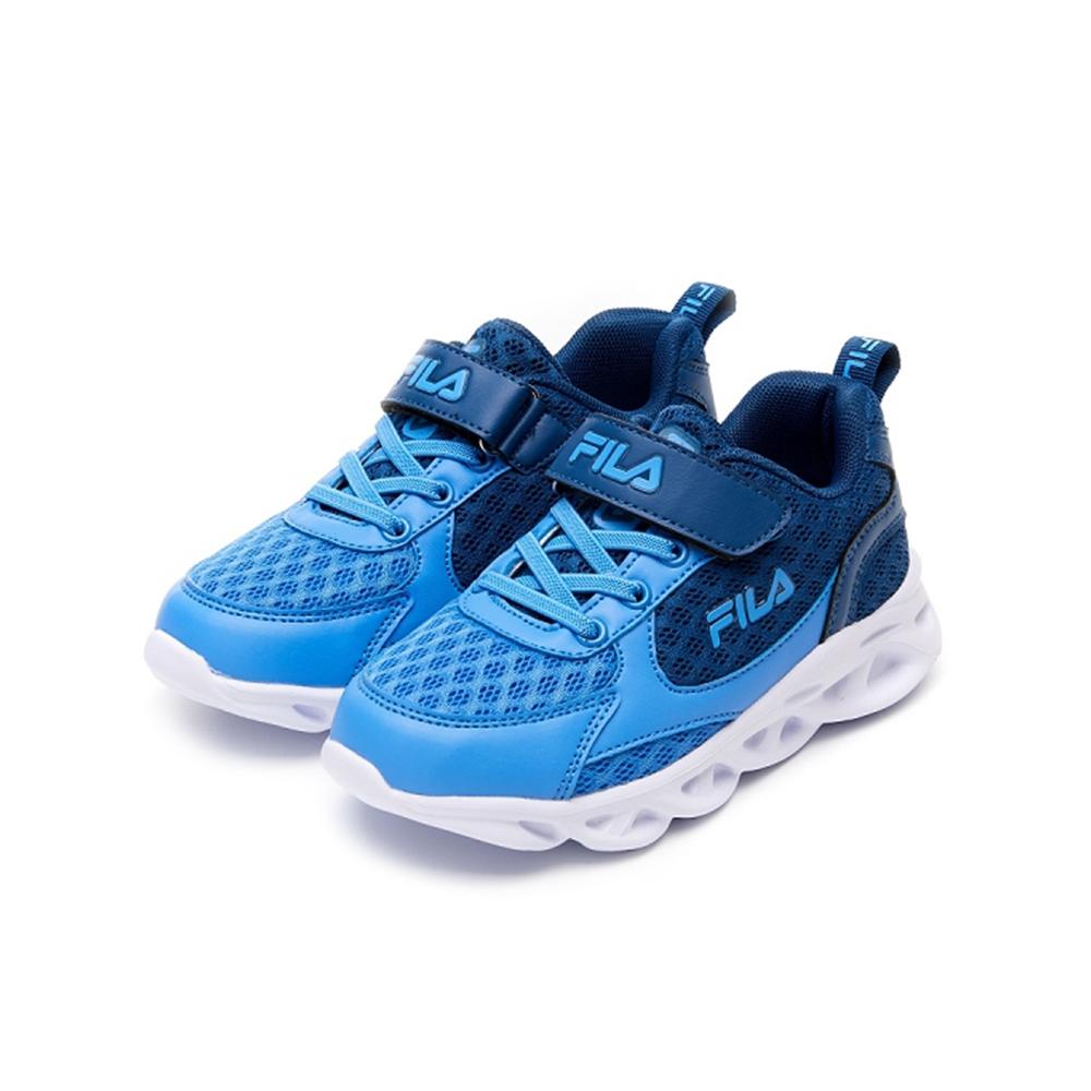 FILA KIDS 中童MD輕量慢跑鞋-藍 2-J422V-333
