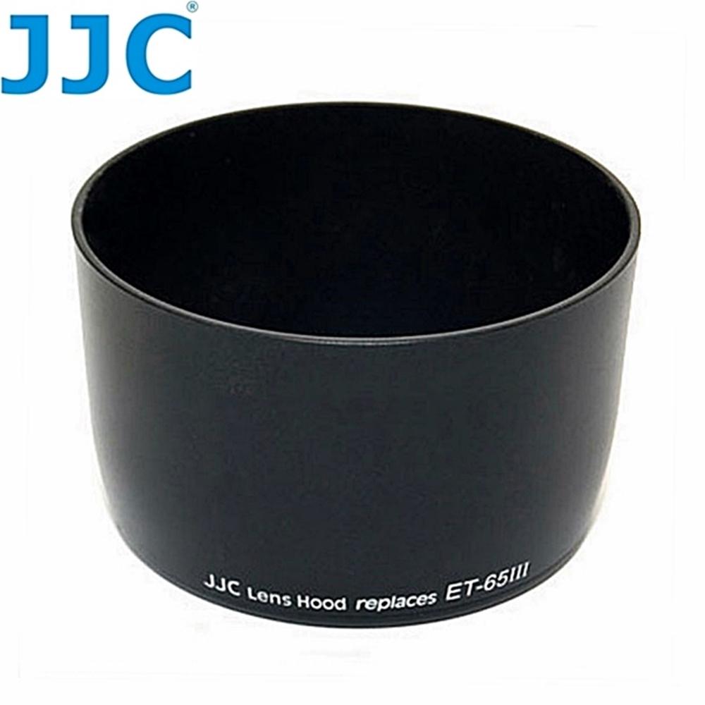 JJC副廠Canon遮光罩LH-65III相容佳能原廠ET-65III遮光罩適EF 85mm f/1.8 100-300mm f/4.5-5.6 100mm f/2.0 USM 135mm f/2.8