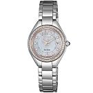 CITIZEN星辰 光動能華麗晶鑽腕錶(EW2556-83Y)-26mm