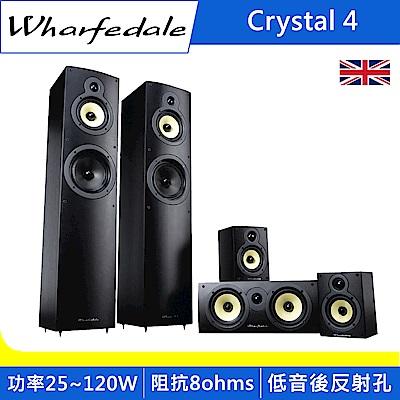 Wharfedale 璀璨水晶四代 Crystal 4 系列揚聲器-黑