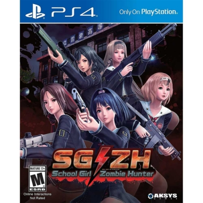 女高中生殭屍獵人 School Girl/Zombie Hunter - PS4 英日文美版