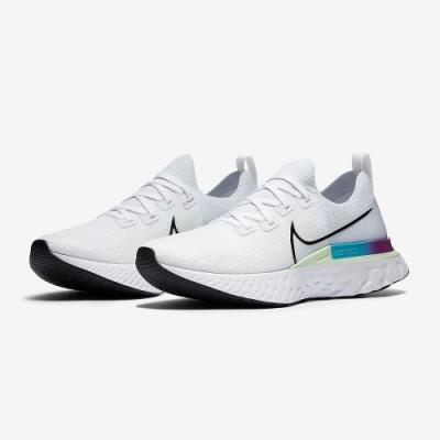 NIKE 襪套 慢跑 緩震 訓練 運動鞋 白 男鞋 CD4371102 REACT INFINITY RUN FK