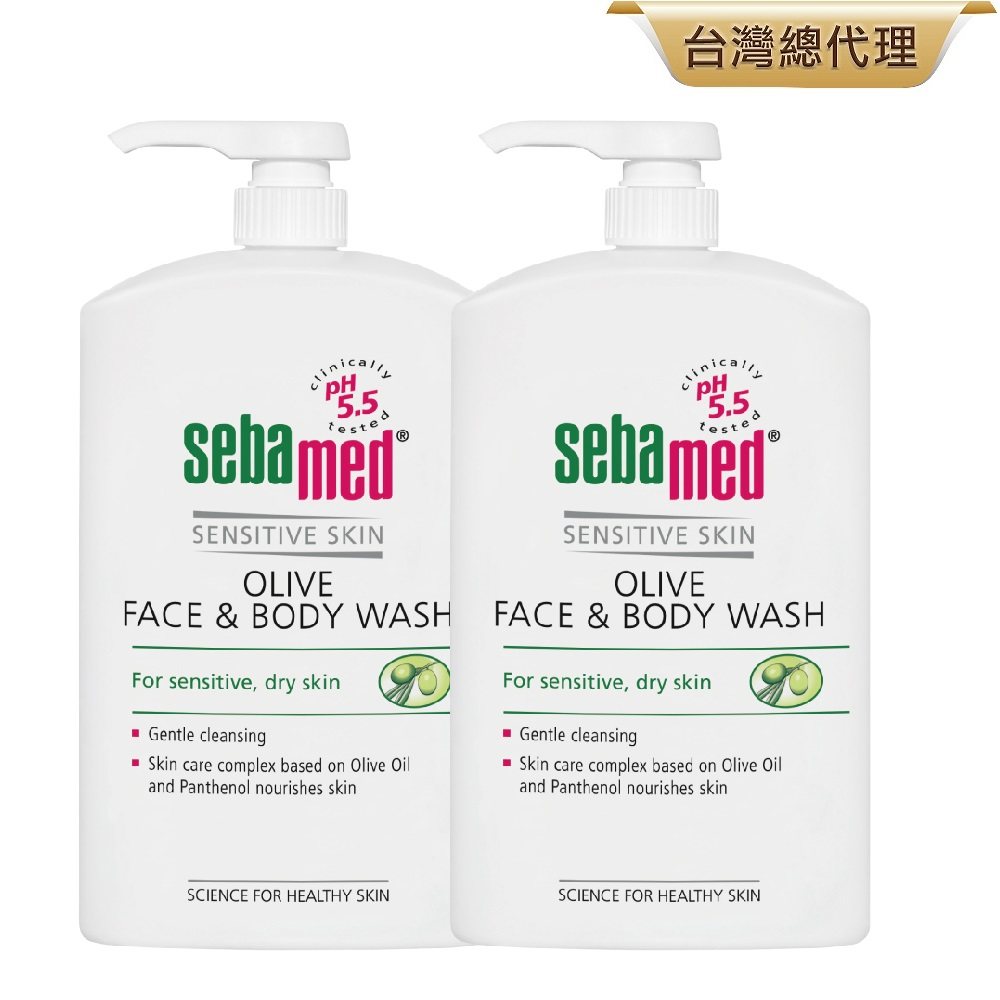sebamed施巴 橄欖潔膚露2入組 product image 1