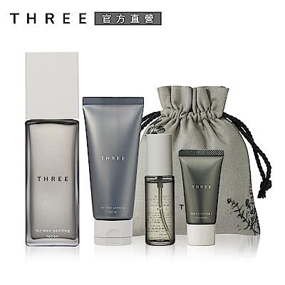 THREE 男士系列特惠組