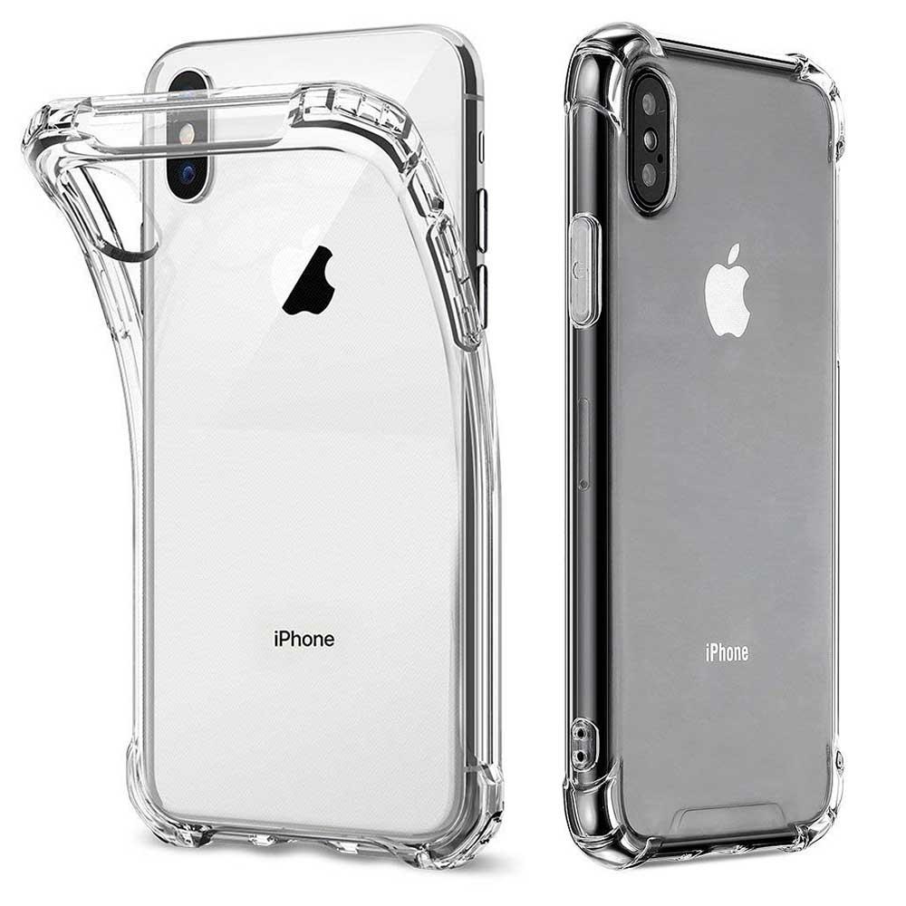 透明殼專家iPhone Xs/X 軍規氣囊 四角防摔殼