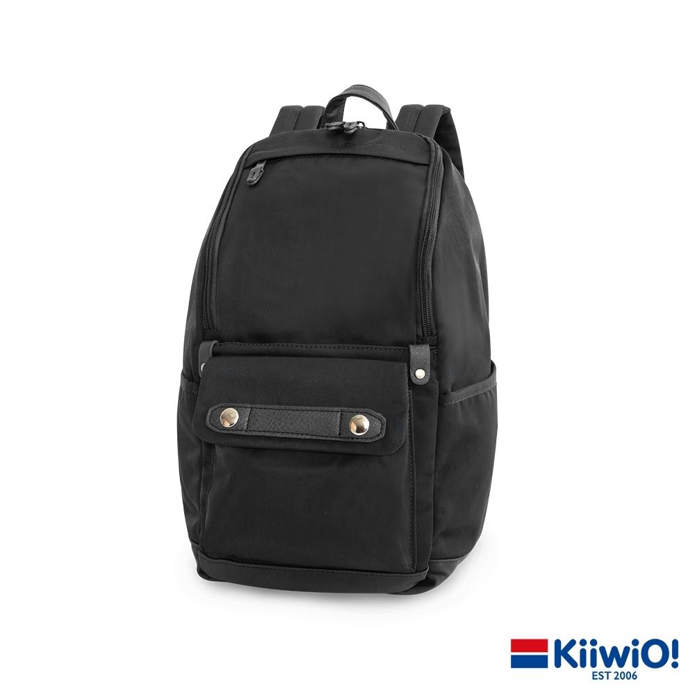 Kiiwi O! 實用尼龍系列 筆電/後背包 MAEVE 黑