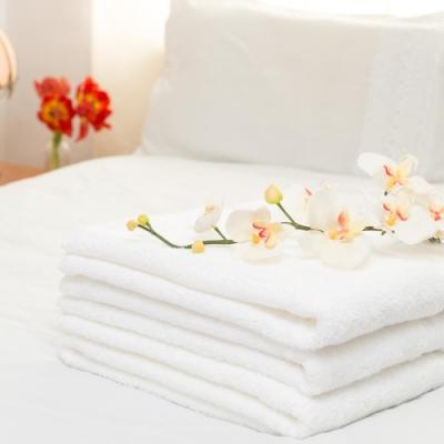 花季 純品良織-SPA專用純棉厚織舒柔純白大浴巾(935g) 6件組