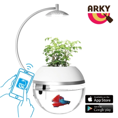 【防疫宅在家 植栽好療癒】ARKY 香草與魚X智能版Herb&Fish X Connect ‧ 魚草共生 寓教於樂